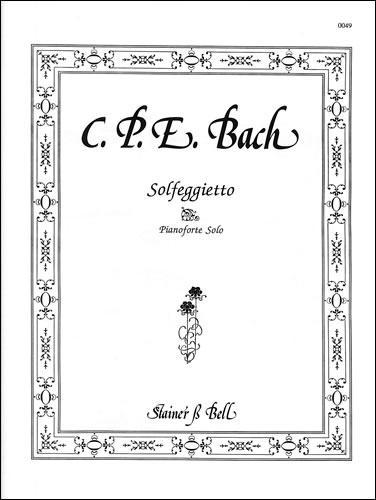 Bach, Carl Philipp Emanuel: Solfeggietto
