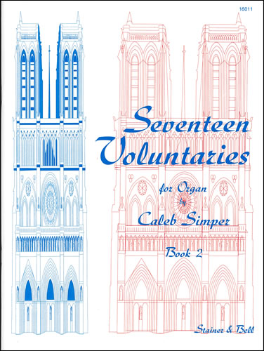 Simper, Caleb: Seventeen Voluntaries. Book 2