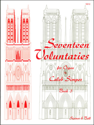 Simper, Caleb: Seventeen Voluntaries. Book 3
