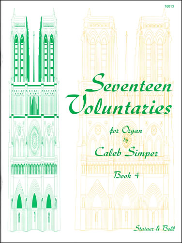 Simper, Caleb: Seventeen Voluntaries. Book 4