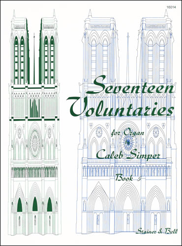 Simper, Caleb: Seventeen Voluntaries. Book 5