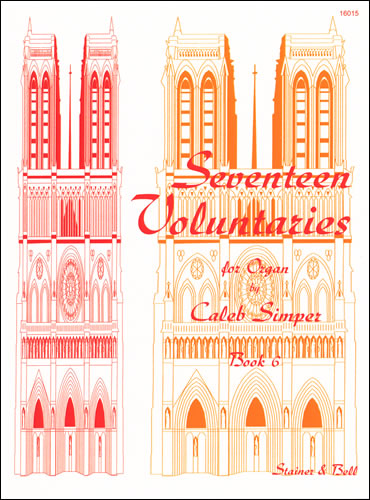 Simper, Caleb: Seventeen Voluntaries. Book 6