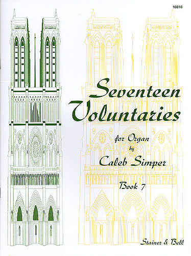 Simper, Caleb: Seventeen Voluntaries. Book 7