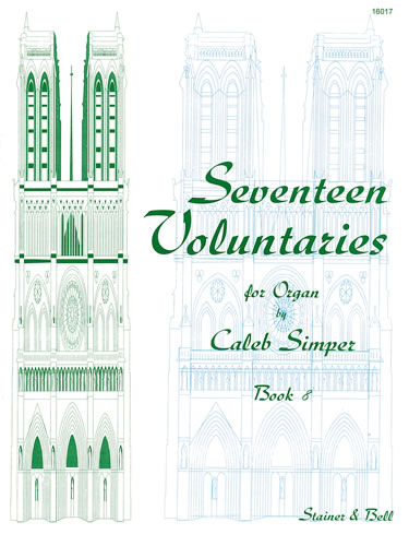 Simper, Caleb: Seventeen Voluntaries. Book 8