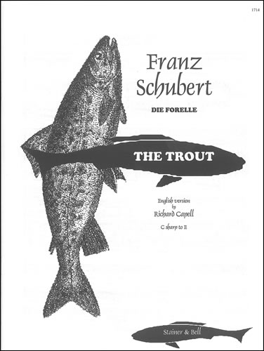 Schubert, Franz: Die Forelle ('The Trout'). B Major