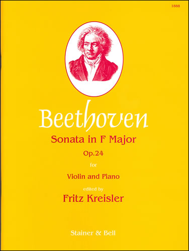 Beethoven, Ludwig Van: Sonata In F, Op. 24 ('Spring') With Piano
