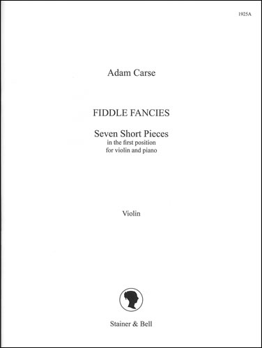 Carse, Adam: Fiddle Fancies: Extra Violin Part
