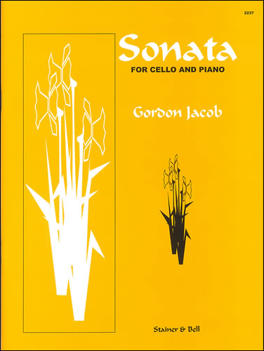 Jacob, Gordon: Sonata For Cello And Piano