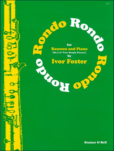 Foster, Ivor: Rondo For Bassoon And Piano
