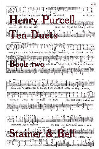 Purcell, Henry: Vocal Duets. Book 2