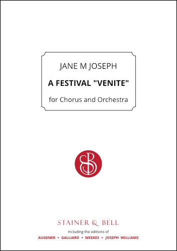 "Joseph, Jane M: A Festival ""Venite"" For Chorus And Orchestra"