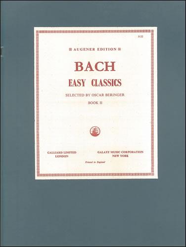 Bach, Johann Sebastian: Easy Pieces. Book 2
