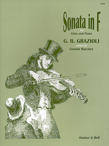 Grazioli, Giovanni Battista: Sonata In F For Viola And Piano