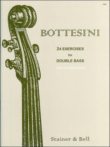 Bottesini, Giovanni: Twenty-four Exercises For Solo Bass