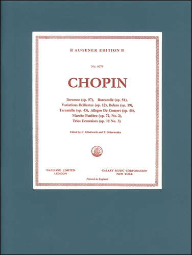 Chopin, Frédéric François: Collection Of Favourite Pieces