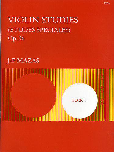 Mazas, Jacques Fereol: Studies, Op. 36. Book 1