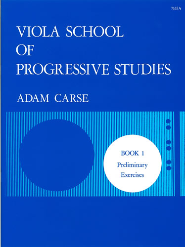 Carse, Adam: Viola School Of Progressive Studies. Book 1