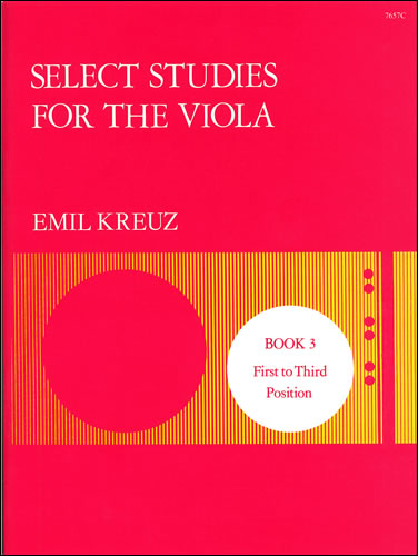 Kreuz, Emil: Select Studies. Book 3