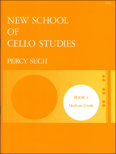 Such, Percy: New School Of Cello Studies: Book 4