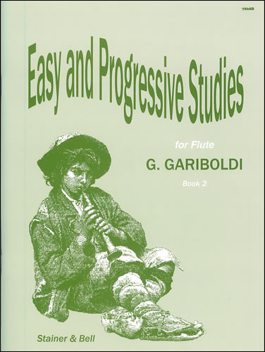 Gariboldi, Giovanni: Thirty Easy And Progressive Studies For Flute. Book 2