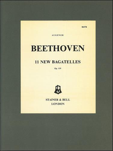 Beethoven, Ludwig Van: Bagatelles, 11 Op. 119