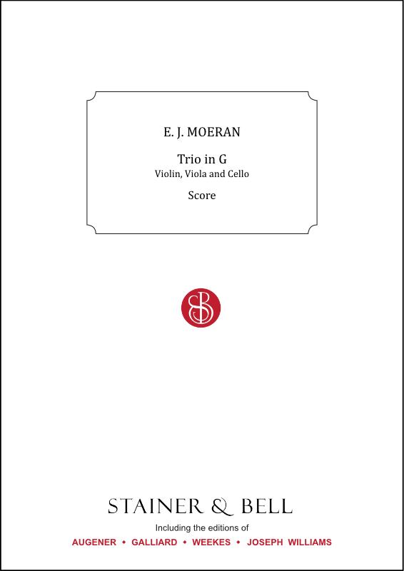 Moeran, Ernest J.: Trio In G For Violin, Viola And Cello