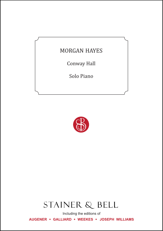 Hayes, Morgan: Conway Hall