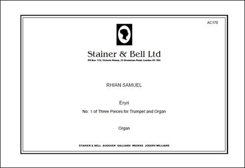 Samuel, Rhian: Eryri (No 1 Of Three Pieces For Trumpet & Organ)