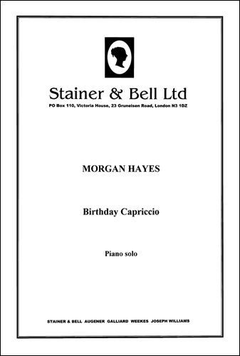 Hayes, Morgan: Birthday Capriccio. Piano
