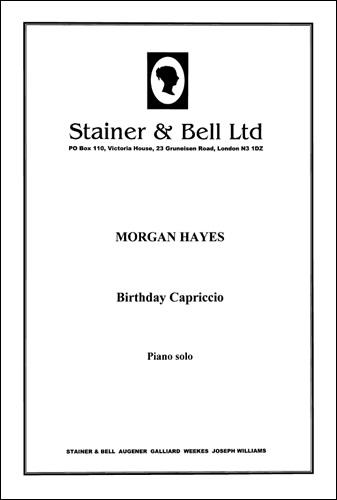 Hayes, Morgan: Birthday Capriccio. Piano