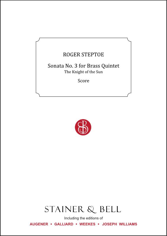 Steptoe, Roger: Sonata No. 3 For Brass Quintet