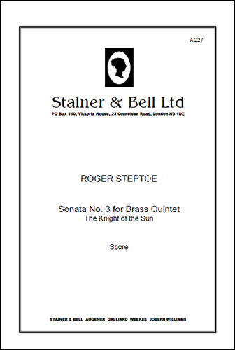 Steptoe, Roger: Sonata No. 3 For Brass Quintet