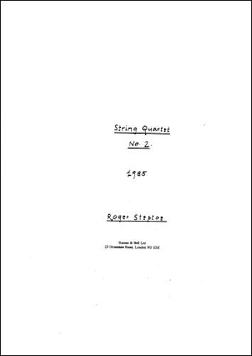 Steptoe, Roger: String Quartet No. 2