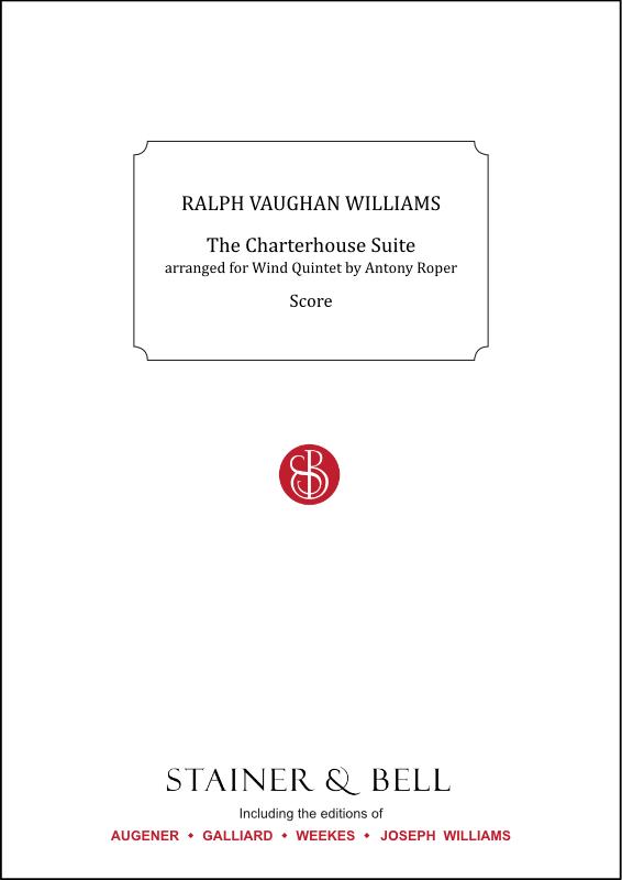 Vaughan Williams, Ralph: Charterhouse Suite, The. Arr. Wind Quintet