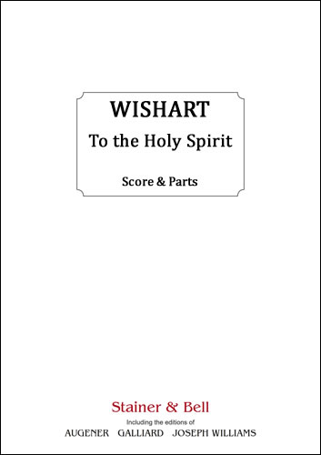 Wishart, Peter: To The Holy Spirit