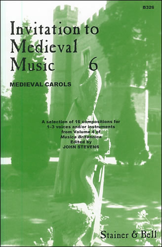 Invitation To Medieval Music Book 6