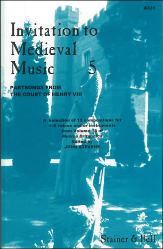 Invitation To Medieval Music Book 5