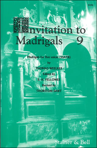 Invitation To Madrigals Book 9