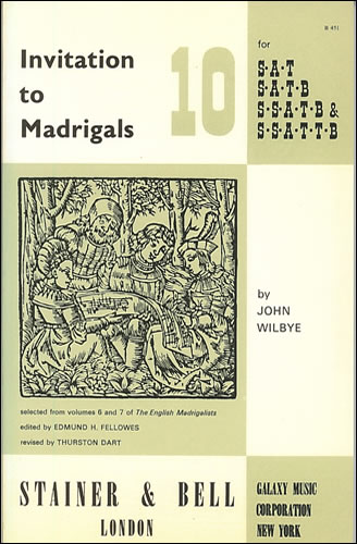 Invitation To Madrigals Book 10