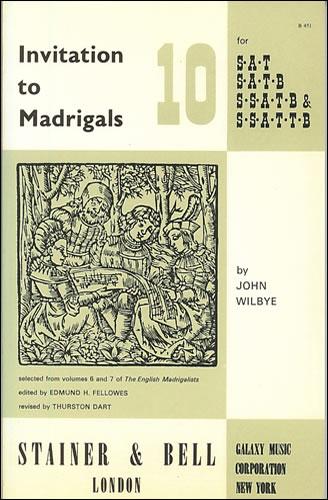 Invitation To Madrigals Book 10