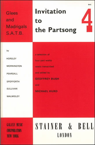 Invitation To The Partsong Book 4
