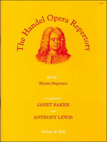 Handel, George Frideric: The Handel Opera Repertory. Book 1. Mezzo-Soprano