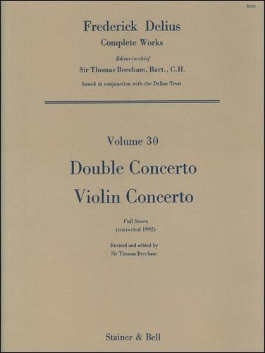 Delius, Frederick: Double Concerto And Violin Concerto. Full Score