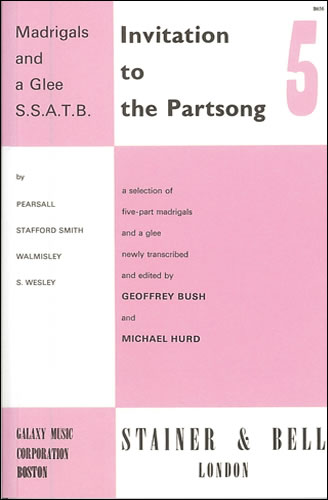 Invitation To The Partsong Book 5