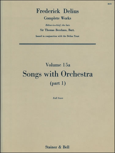 Delius, Frederick: Songs With Orchestra