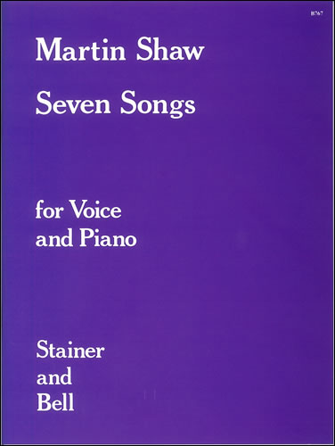 Shaw, Martin: Seven Songs
