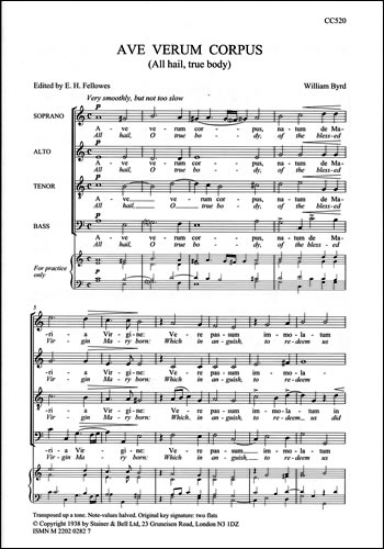 Byrd, William: Ave Verum Corpus (All Hail True Body)