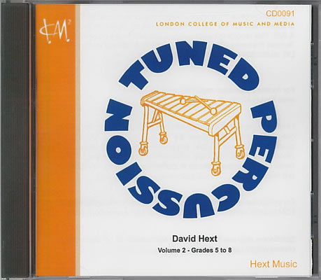 Percussion Syllabus: Tuned Percussion CD (Grades 5 – 8)