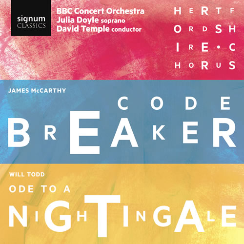 McCarthy, James: Codebreaker. CD