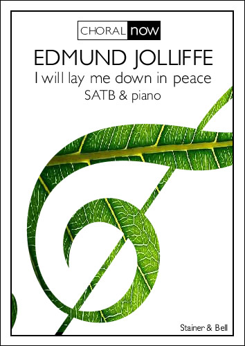 Jolliffe, Edmund: I Will Lay Me Down In Peace (PDF)